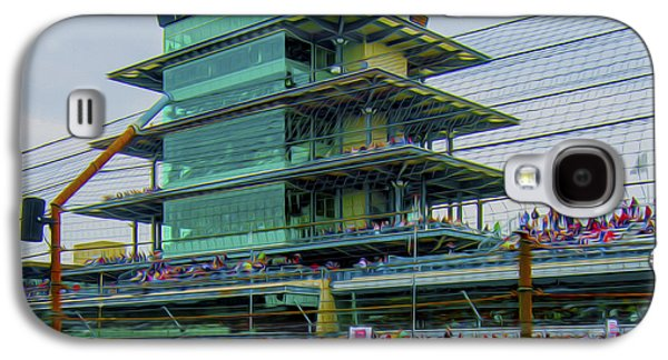 Indianapolis 500 May 2013 Square Galaxy S4 Case by David Haskett