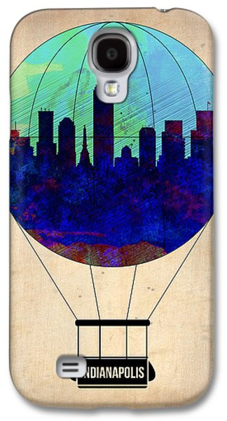 Indianapolis Air Balloon Galaxy S4 Case by Naxart Studio
