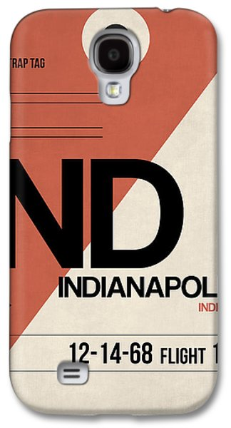 Indianapolis Airport Poster 1 Galaxy S4 Case by Naxart Studio