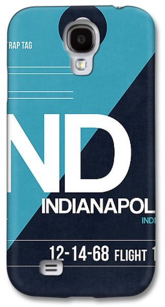 Indianapolis Airport Poster 2 Galaxy S4 Case by Naxart Studio