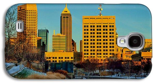 Indianapolis Skyline Dynamic Galaxy S4 Case