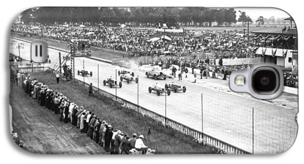 Indy 500 Auto Race Galaxy S4 Case by Underwood Archives