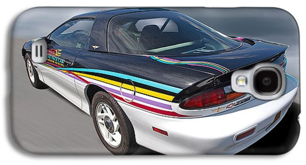 Indy 500 Pace Car 1993 - Camaro Z28 Galaxy S4 Case by Gill Billington