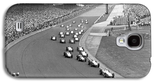 Indy 500 Race Start Galaxy S4 Case by Underwood Archives