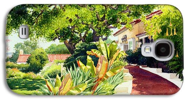 Inn At Rancho Santa Fe Galaxy S4 Case by Mary Helmreich