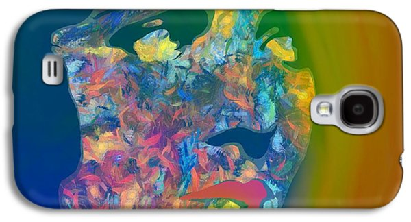 Inner Beauty Pop Art Galaxy S4 Case by Dan Sproul