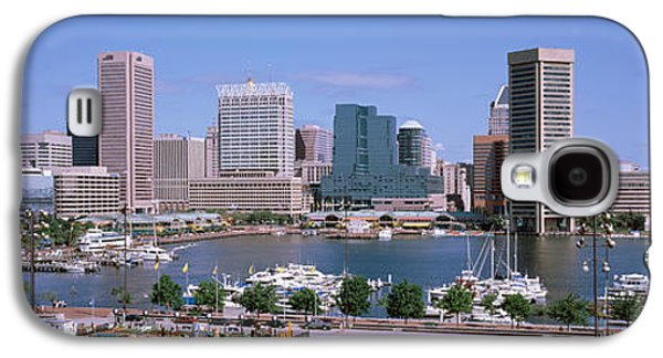 Inner Harbor Skyline Baltimore Md Usa Galaxy S4 Case by Panoramic Images