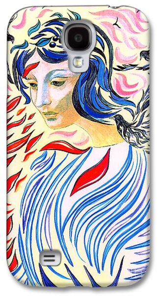 Inner Peace Galaxy S4 Case by Jane Small