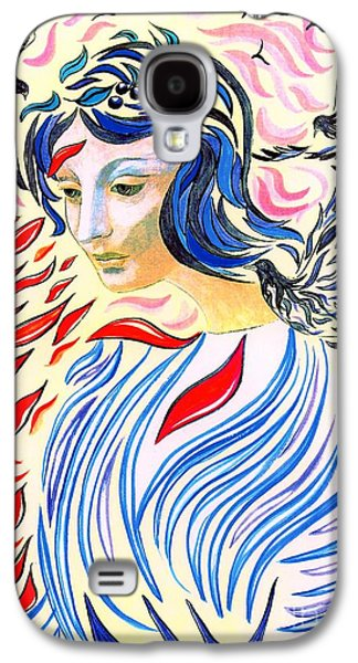 Dove Galaxy S4 Case - Inner Peace by Jane Small