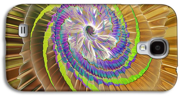 Inner Twister Galaxy S4 Case by Deborah Benoit