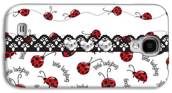 Innocent Ladybugs  Galaxy S4 Case by Debra  Miller