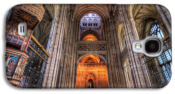 Inside Canterbury Cathedral Galaxy S4 Case by Tim Stanley