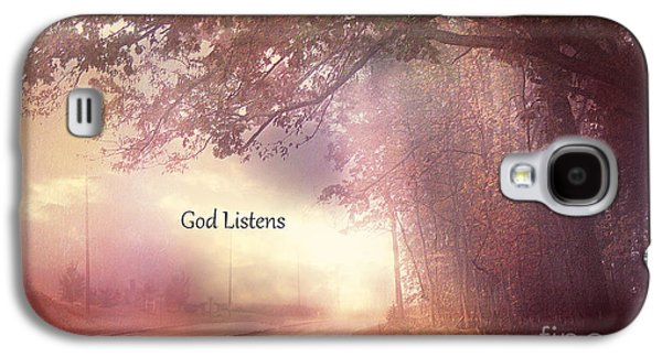 Inspirational Nature Landscape - God Listens - Dreamy Ethereal Spiritual And Religious Nature Photo Galaxy S4 Case