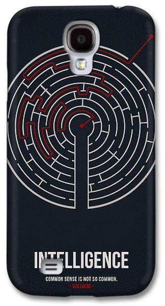 Intelligence Galaxy S4 Case by Aged Pixel