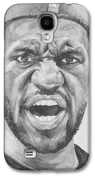 Intensity Lebron James Galaxy S4 Case by Tamir Barkan