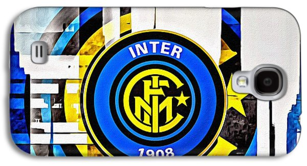 Inter Milan Poster Art Galaxy S4 Case by Florian Rodarte