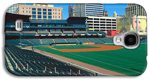 Interior Of Autozone Baseball Park Galaxy S4 Case by Panoramic Images