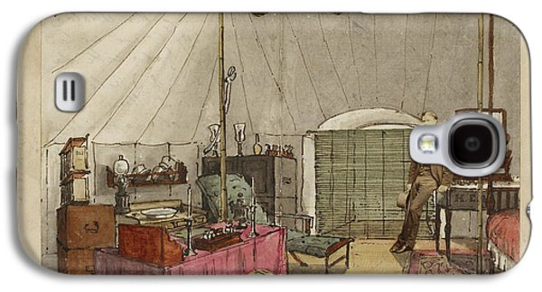 Interior Of My Tent Galaxy S4 Case by British Library