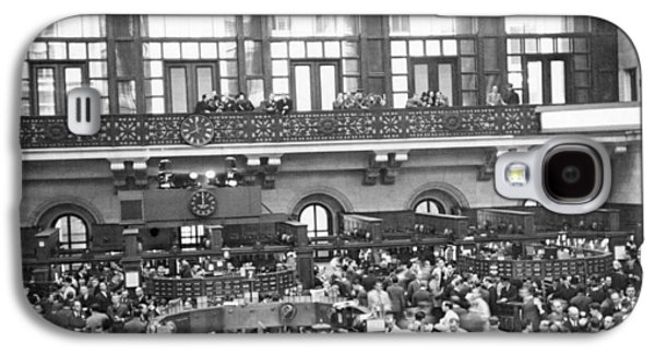 Interior Of Ny Stock Exchange Galaxy S4 Case by Underwood Archives