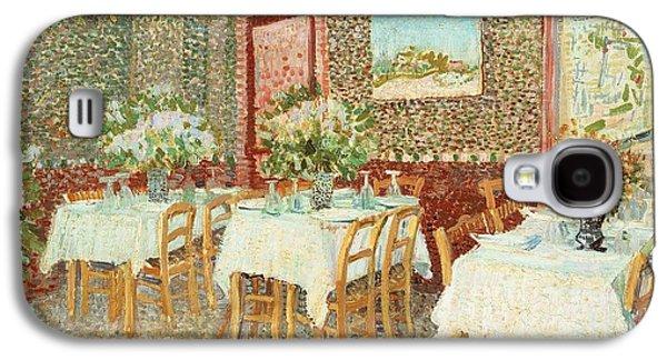 Interior Of Restaurant Galaxy S4 Case by Vincent van Gogh