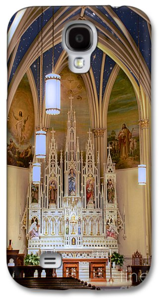 Interior Of St. Mary's Church Galaxy S4 Case