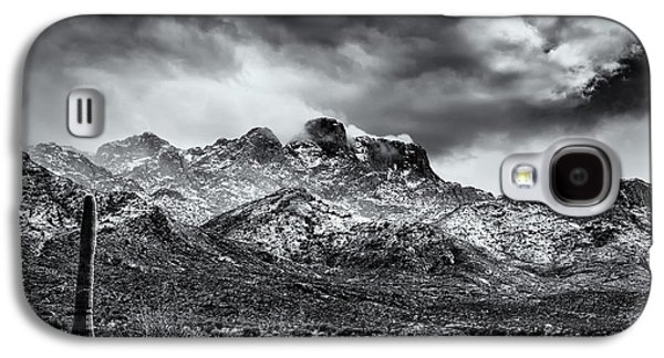 Galaxy S4 Case featuring the photograph Into Clouds by Mark Myhaver
