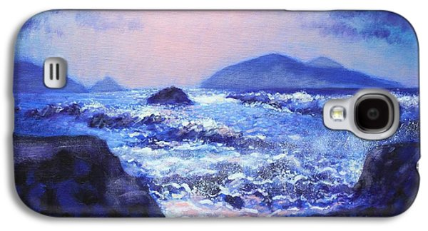 Into The Light The Blasket Islands  Galaxy S4 Case by John  Nolan