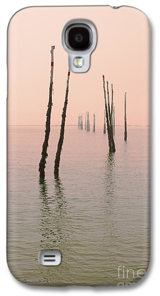 Into The Pink Sunset... Galaxy S4 Case by Nina Stavlund