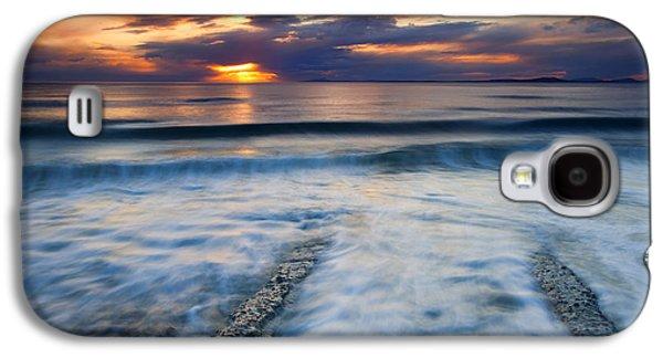 Into The Sea Galaxy S4 Case by Mike  Dawson