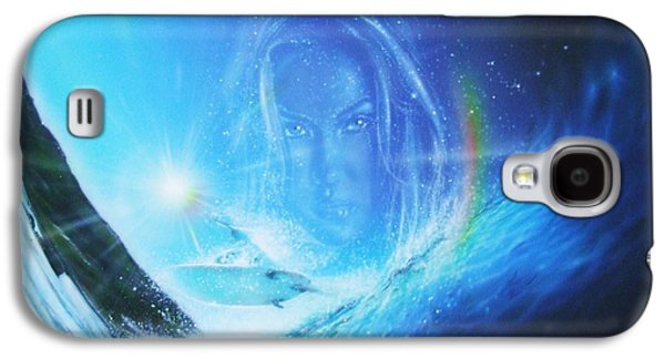 Ocean - ' Into The Void ' Galaxy S4 Case by Christian Chapman Art