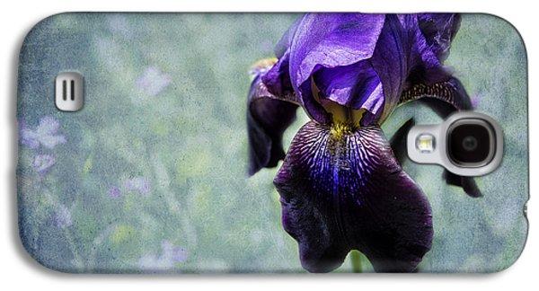 Iris - Purple And Blue - Flowers Galaxy S4 Case