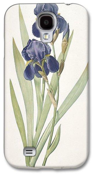 Iris Germanica Bearded Iris Galaxy S4 Case by Pierre Joseph Redoute