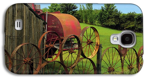 Iron Wheels, Dahmen Barn, Uniontown Galaxy S4 Case