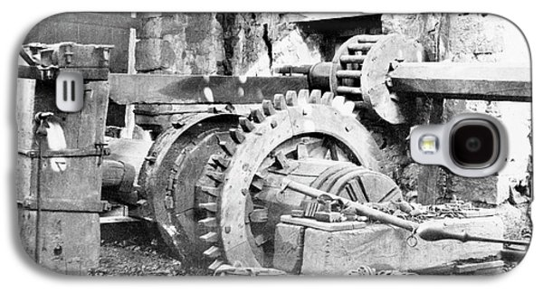 Ironworking Forge Machinery Galaxy S4 Case