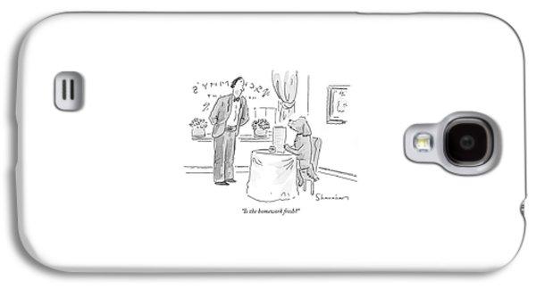 Is The Homework Fresh? Galaxy S4 Case