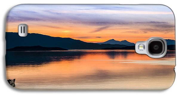 Sunset Isle Of Jura Scotland Galaxy S4 Case