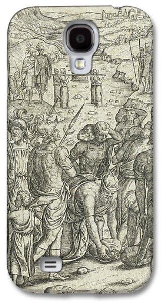 Israelites Cross The Jordan, Pieter Huys Galaxy S4 Case