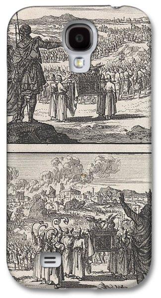 Israelites Crossing The Jordan, Fall Of Jericho Galaxy S4 Case