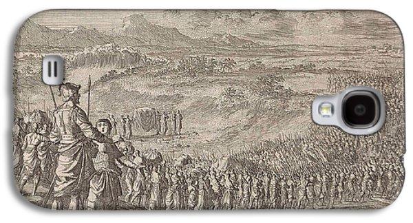 Israelites Pass Through The Dry Jordan, Jan Luyken Galaxy S4 Case