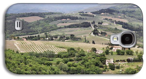 Italian Vineyards Galaxy S4 Case by Nancy Ingersoll