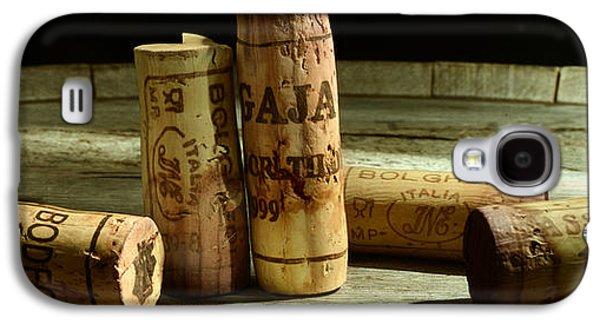 Italian Wine Corks Galaxy S4 Case by Jon Neidert