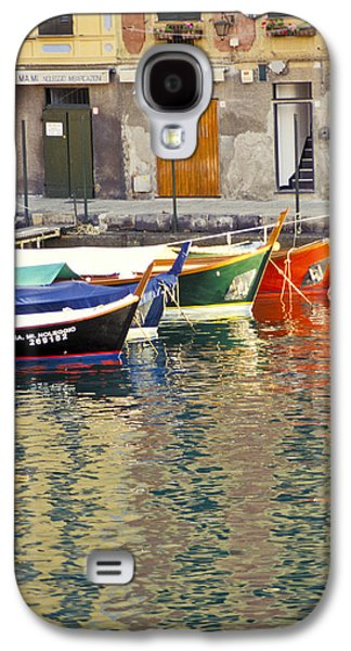 Italy Portofino Colorful Boats Of Portofino Galaxy S4 Case by Anonymous