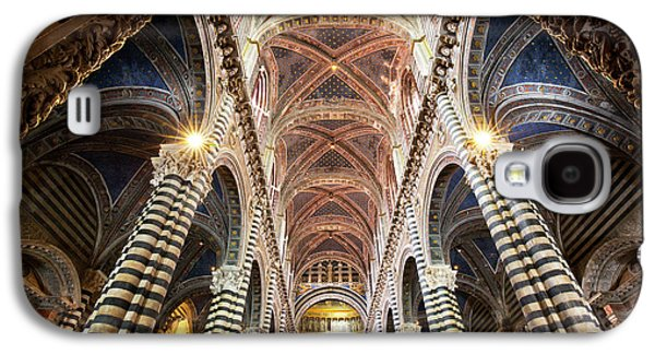 Italy, Sienna Interior Of Sienna Galaxy S4 Case by Jaynes Gallery