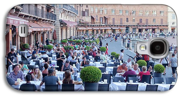 Italy, Tuscany, Piazza Del Campo - Galaxy S4 Case by Panoramic Images