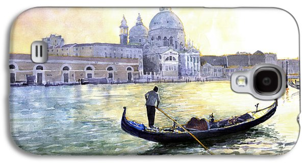 City Scenes Galaxy S4 Case - Italy Venice Morning by Yuriy Shevchuk