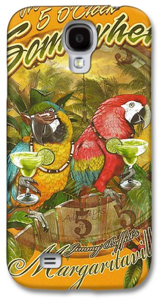 It's 5 O'clock Somewhere Galaxy S4 Case by Desiderata Gallery