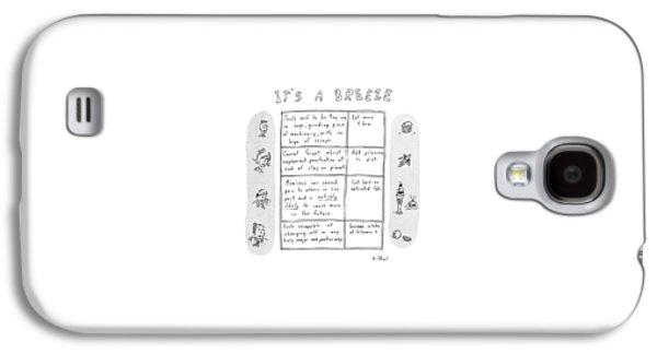 It's A Breeze Galaxy S4 Case