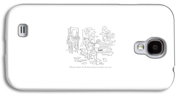 It's Your Scenario. Mr. Brodkin Is Altering Galaxy S4 Case