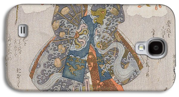 Iwai Kumesaburo II As A Courtesan Galaxy S4 Case by Utagawa Kunisada