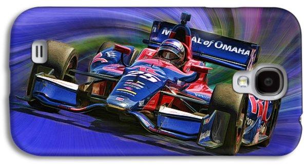 Izod Indycar Series Marco Andretti  Galaxy S4 Case